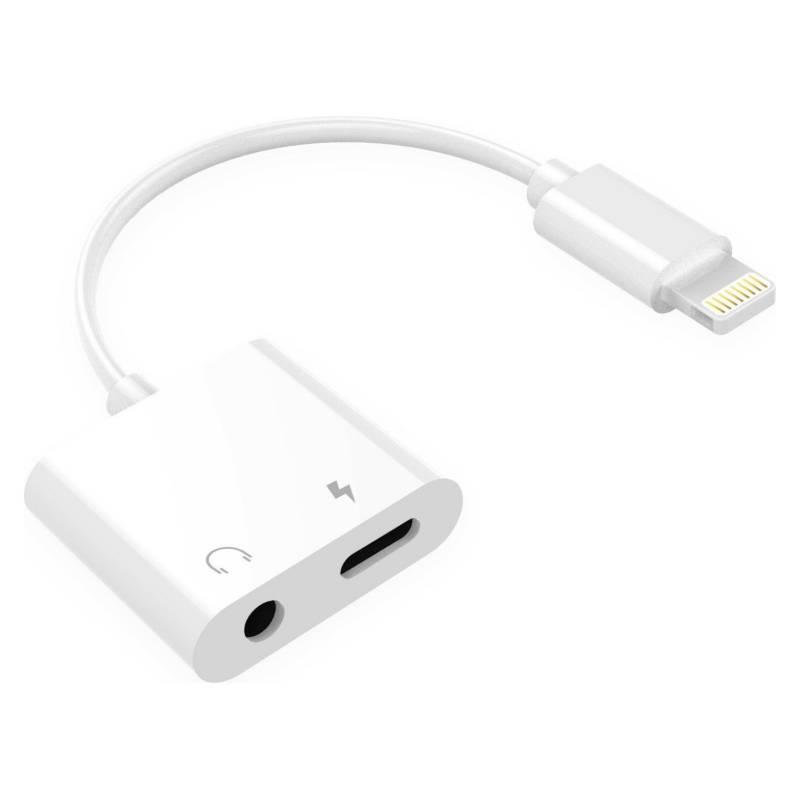 MATTEO - Adaptador Audífonos y Carga iPhone Lightning