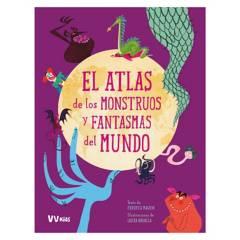 VICENS VIVES - Atlas De Los Monstruos Y Fantasmas