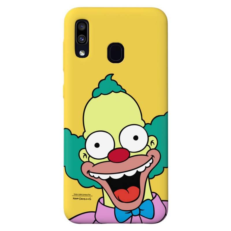 Carcasa Samsung A20/A30 Simpson Krusty