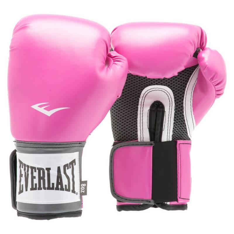 EVERLAST - Guante Boxeo Pro Style Training Rosa