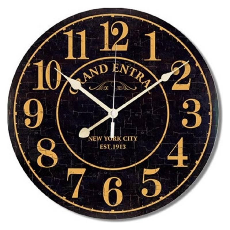 Interacti - Reloj Mural Grand Black