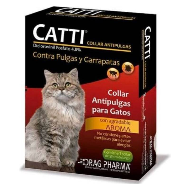 Drag Pharma - Drag Pharma-Collar Antipulgas Para Gatos/Catti
