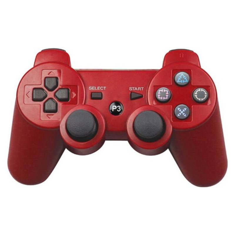 COMPRAPO - Control Joystick Ps3 Dualshock Inalambrico Rojo