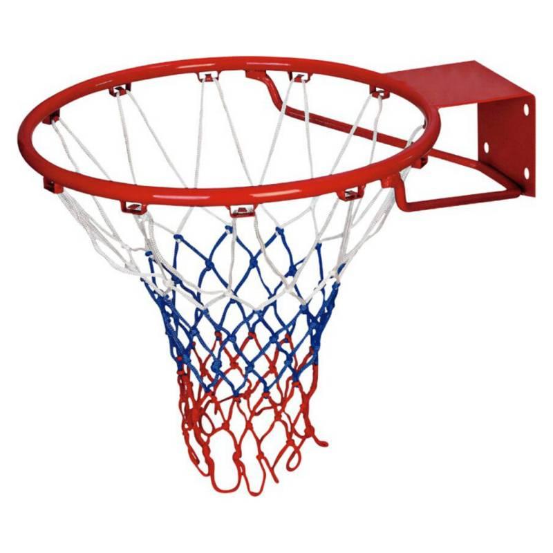 SYHDEPORTES - Aro De Basketball Con Red Tricolor Y Fijaciones
