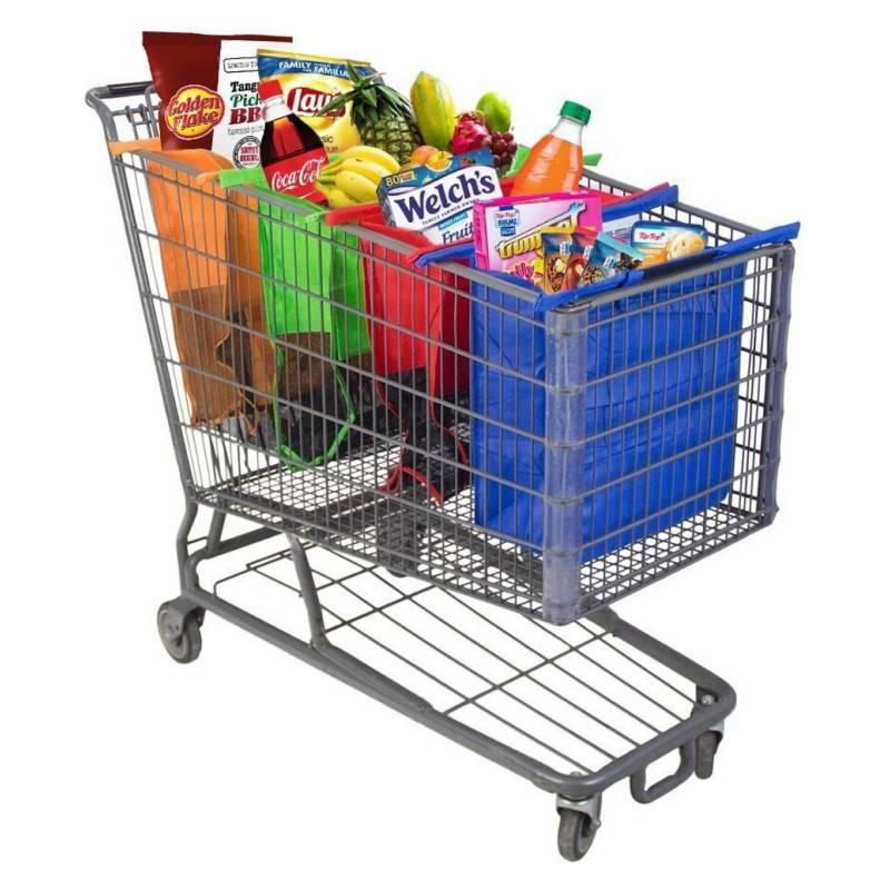 Generico - Set De Bolsas Para Supermercado Reutilizables