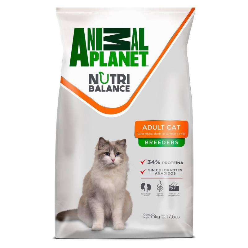 ANIMAL PLANET - Animal Planet Alimento Gato Adulto 8 Kg