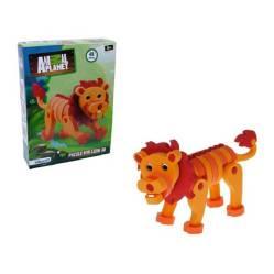 Animal Planet - Figura Puzzle 3D 48 Piezas Leon