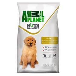 Animal Planet - Animal Planet Cachorro Raza Med/Grande 12 Kg
