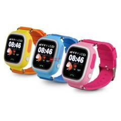 DBLUE - Smartwatch Reloj Para Niños Con Gps Amarillo