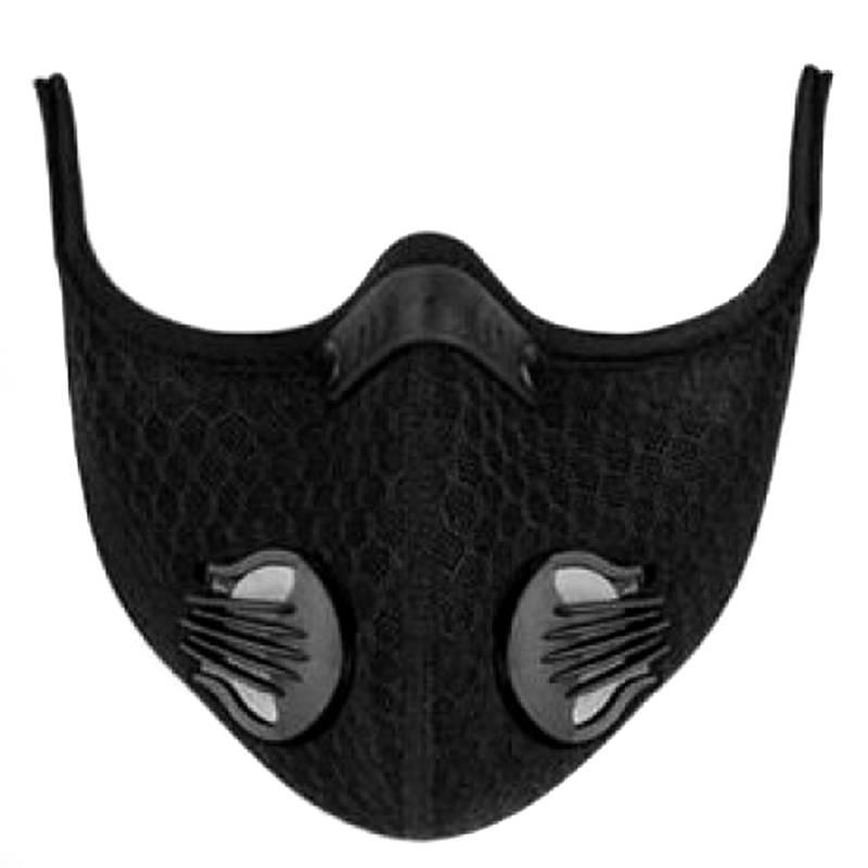 GENERICO - Mascara Carbon Activado  Ciclismo Deporte Aire