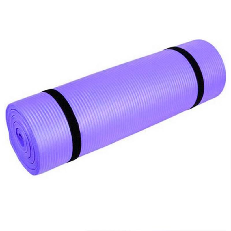 Alfombra Mat De Yoga Violeta  8Mm