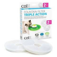 CAT IT - Filtro Para Fuente De Agua Flower 3 Litros