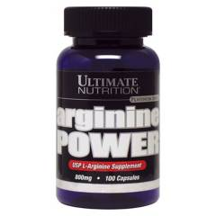 ULTIMATE NUTRITION - Arginina Power 800 Mg - 100  Caps. Ul