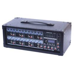 MEKSE - Consola Powered Mixer. 8Ch