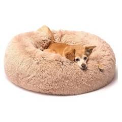 Usa - Cama Para Mascotas De Piel Sintética Rosa 35X15 Cm
