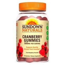 SUNDOWN NATURALS - Cranberry 500 Mg - 75 Gummies Sd