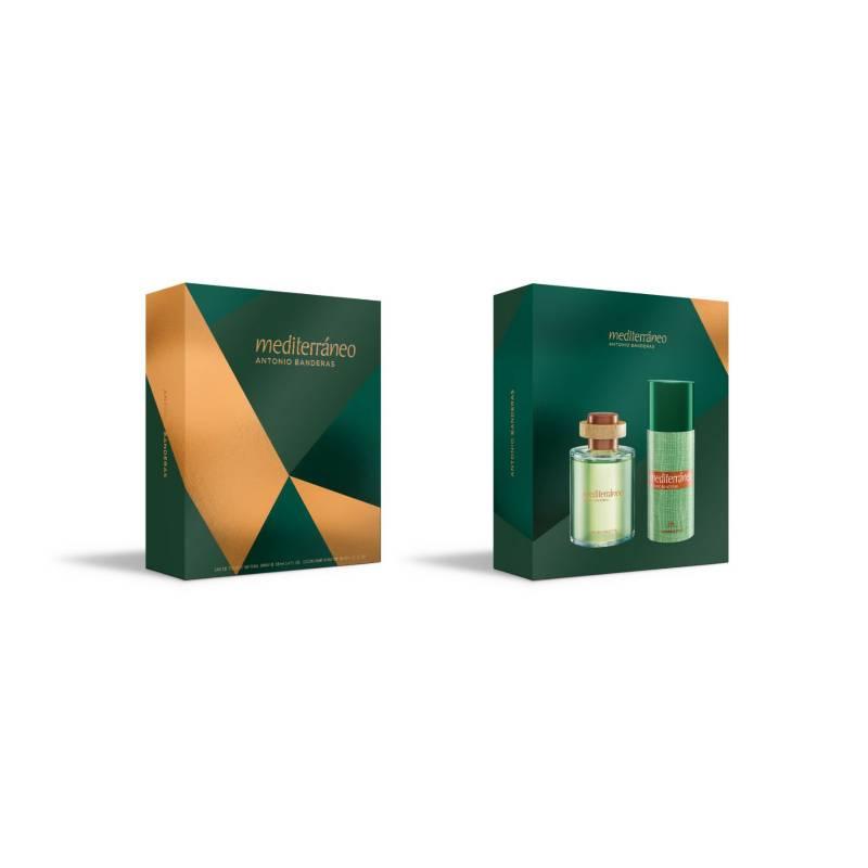 ANTONIO BANDERAS - Set Perfume Hombre Mediterraneo Edt 100Ml + Desodorante 150Ml