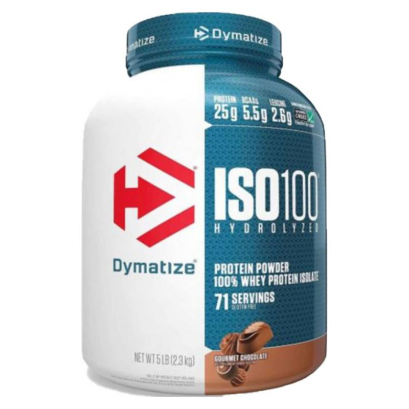 DYMATIZE - Proteina Iso Chocolate 100 5 L