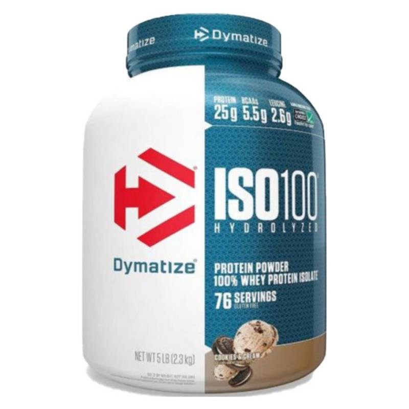 DYMATIZE - Proteina Iso Cookies 100 5 L