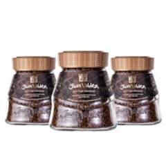 JUAN VALDEZ - Pack 3x Café Soluble Liofilizado 190 g