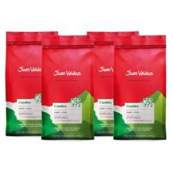 Juan Valdez - Pack 4x Café Grano Fuerte Cumbre 500 g