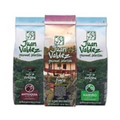 JUAN VALDEZ - Pack 3x Café Grano Origen Variedades 500 g