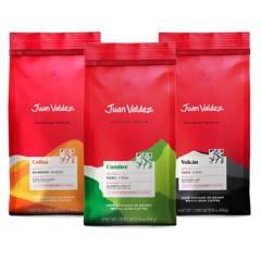 Juan Valdez - Pack 3x Café Grano Premium Variedades 500 g