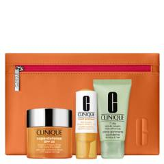 CLINIQUE - Set NUEVO Superdefense SPF 25 50 ml+ Vit C