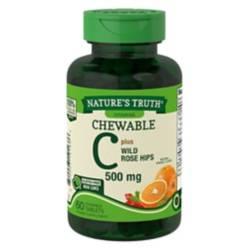 NATURE S TRUTH - Vitamina C 500 Mg - 60 Comprimidos Masticables