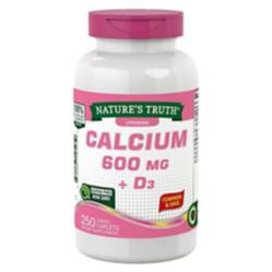 NATURE S TRUTH - Calcio 600 Mg  Vitamina D3 - 250 Comprimidos