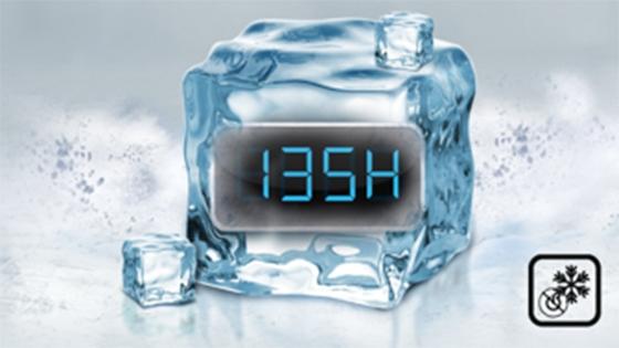 135 hrs. de frío continuo