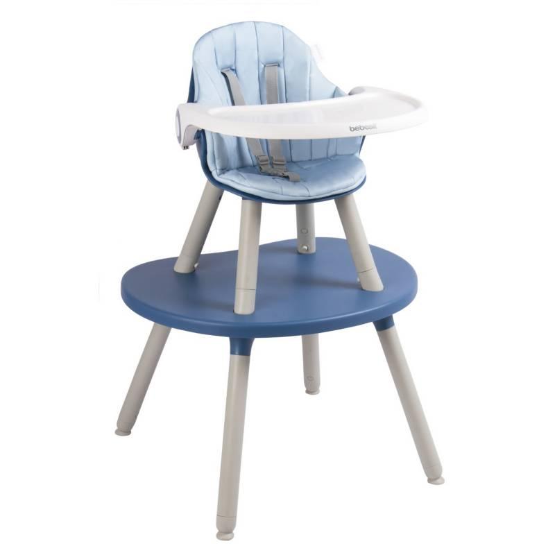 BEBESIT - Silla de comerComer BabyDesk Azul