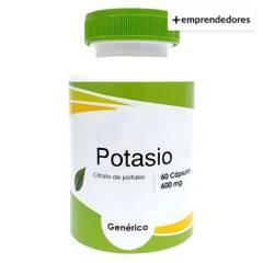CHACRA URBANA - Potasio Pack 2 Frascos de 60 Capsulas y 600Mg C/U