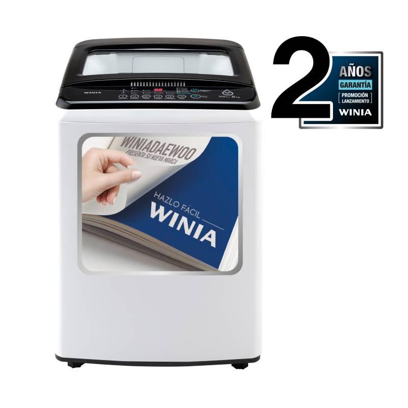 WINIA - Lavadora Automática 8 kg DWF-E81W