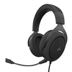 CORSAIR - Audifonos OnEar HS50 Pro Carbón