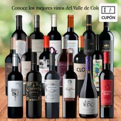 EL MUNDO DEL VINO - Cupón para Caja de 6 vinos durante 3 meses. Valle de Colchagua