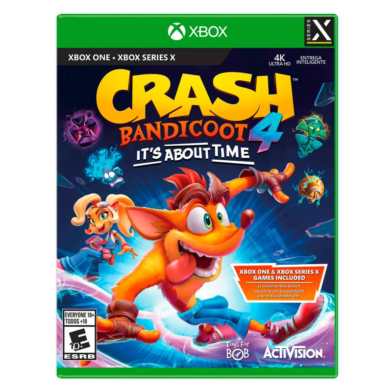 Activision - Videojuego Crash Bandicoot4 Its About Time Xbox One