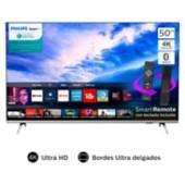 """PHILIPS - LED 50"""" 50PUD6654 4K Ultra HD Smart TV"""