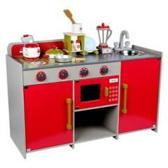 Generico - Cocina Completa Roja