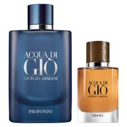 GIORGIO ARMANI - Acqua Di Gio Profondo 125 ml + Acqua Di Gio Absolu 40 ml