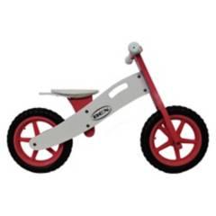 BEX - Bicicleta de Equilibrio de Madera Rosado