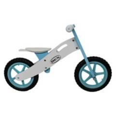 BEX - Bicicleta de Equilibrio de Madera Azul
