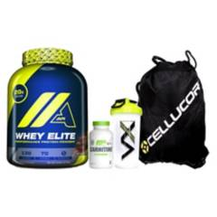 Cellucor - Pack Whey Elite Chocolate