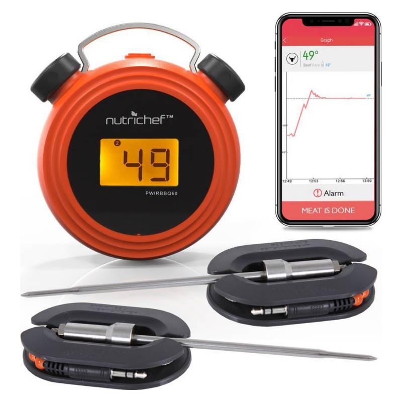 Pyle - Termometro Bluetooth Para Parrilla