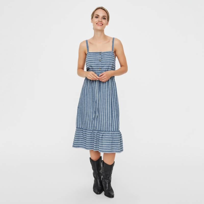 Vero Moda - Vestido Midi Mujer