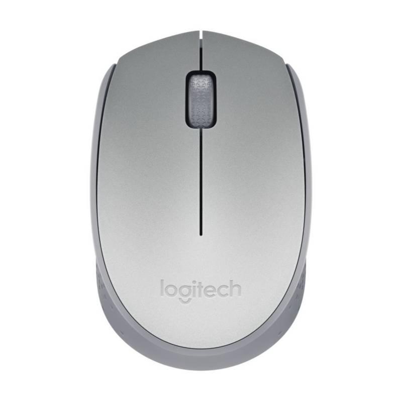 Logitech - Mouse M170 Silver