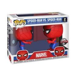 Funko - Funko Pop Set Spiderman Vs Spiderman Exclusive Ed