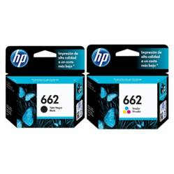 Hp - Pack Hp 662 Negro  Color