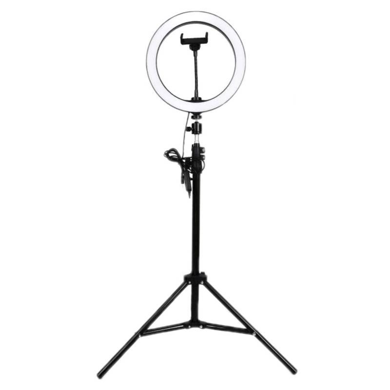 Aro De Luz 26Cm - Con Trípode Y Soporte Celular