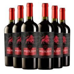 ARBOLEDAA - 6 Vinos Bestia Roja Gran Rva Carmenere